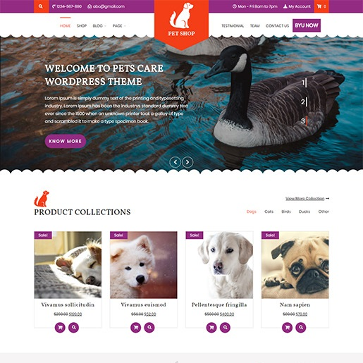animal themes vw pet shop