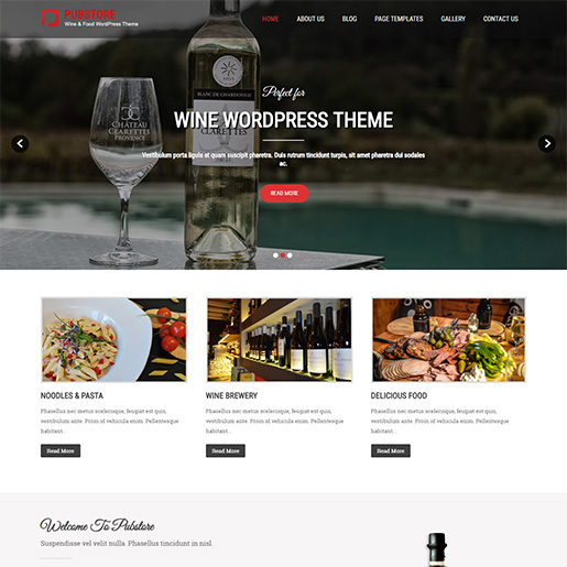 bar wordpress theme - pub store