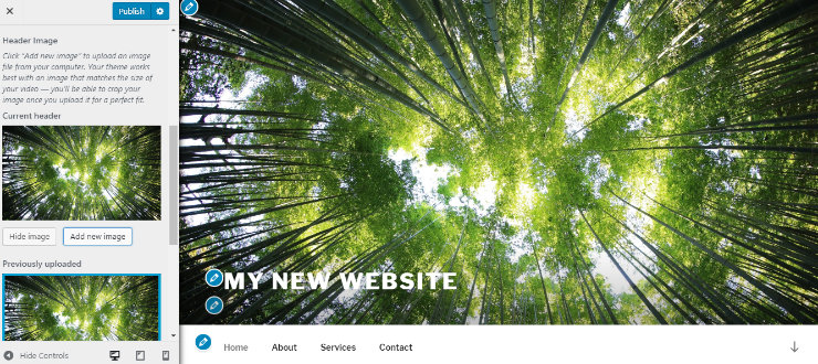 customize-wordpress-blog-header