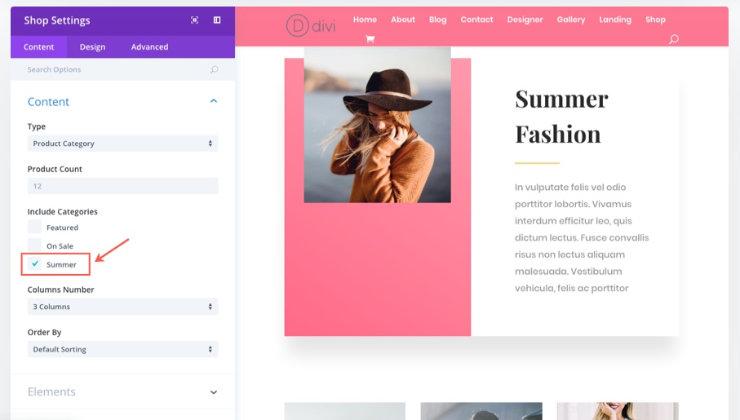divi-online-store
