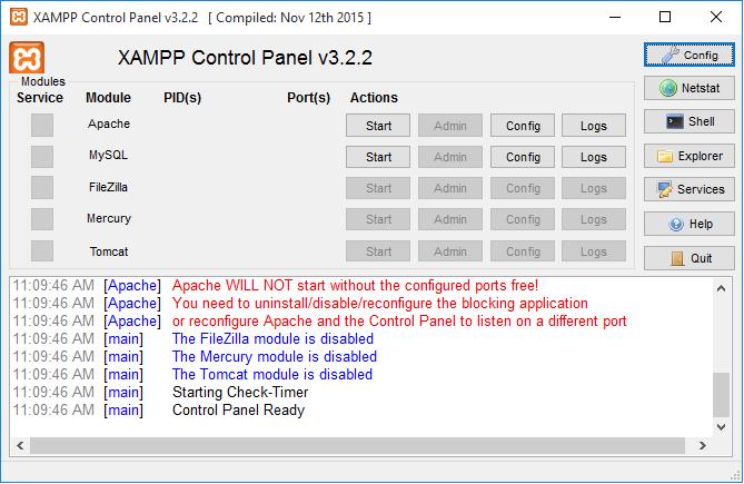 avigate to the XAMPP subfolder