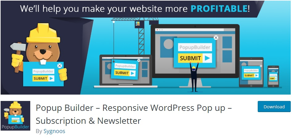popup builder wordpress newsletter plugins